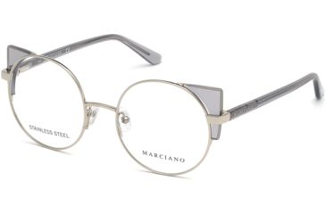 7673ef5c62 Guess By Marciano GM0332 Eyeglass Frames - Shiny Light Nickeltin Frame  Color