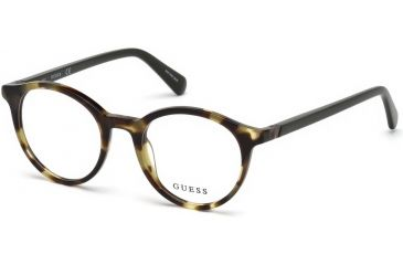 64e19bac7b4 Guess GU1951 Eyeglass Frames - Coloured Havana Frame Color