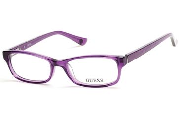 76ef10e7cfb Guess GU2517 Eyeglass Frames - Shiny Violet Frame Color
