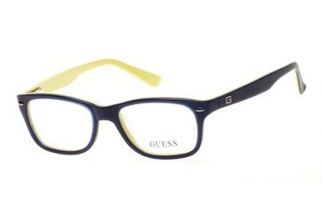 80c0abf6ab7a7 Guess GU9145 Eyeglass Frames - Matte Blue Frame Color