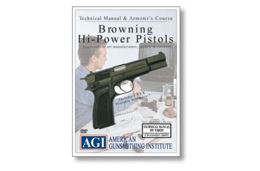 Gun Video DVD - AGI Technical Manual - Browning Hi-Power Pistol X0065D