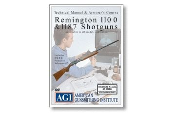 Gun Video DVD - AGI: Remington 1100 Shotguns X0075D