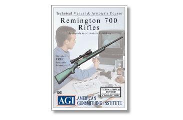 Gun Video DVD - AGI: Remington 700 Rifles X0477D