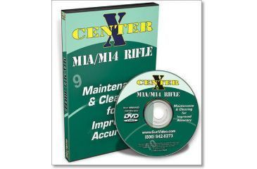 Gun Video DVD - Center X M1A/M14 Rifle Disassembly/Reassembly R0016D
