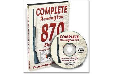 Gun Video DVD - Complete Remington 870 Shotgun Dissassembly/Reassembly X0493D