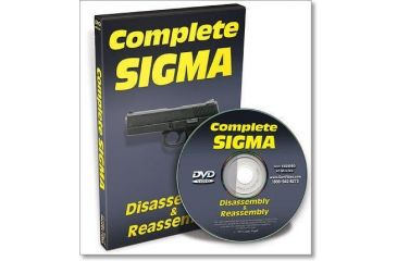 Gun Video DVD - Complete Sigma Disassembly/Reassembly X0009D