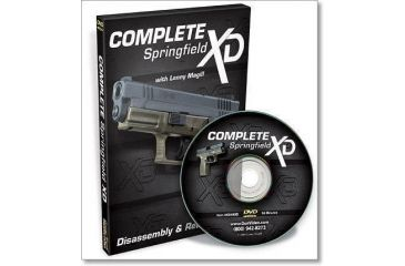 Gun Video DVD - Complete Springfield XD Disassembly/Reassembly X0495D
