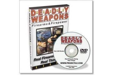 Gun Video DVD - Deadly Weapons MG006D