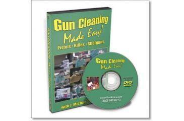 Gun Video DVD - Gun Cleaning Made Easy SD020D