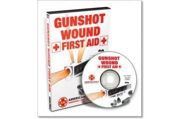 Gun Video DVD - Gunshot Wound - First Aid X0562D