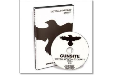 Gun Video DVD - Gunsite: Tactical Concealed Carry 1 X0181D