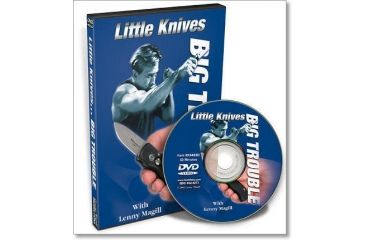 Gun Video DVD - Little Knives...Big Trouble X0402D