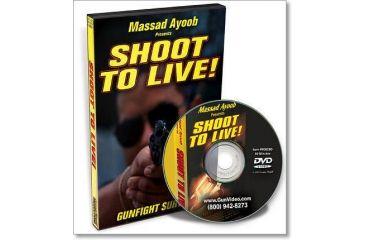 Gun Video DVD - Shoot to Live! Massad Ayoob P0025D