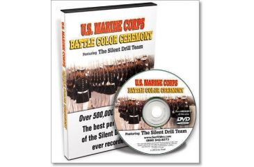 Gun Video DVD - U.S. Marine Corps Battle Color Ceremony - Silent Drill Team M0049AD