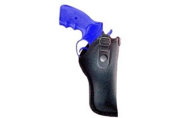 "Gunmate Black Hip Holster Fits Belt Width Up To 2"" Size 10 21010"