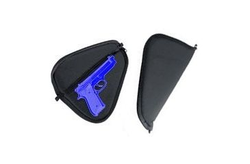 GunMate Soft Pistol Case/Rug, Black w/ Lockable Zippers - Large 22403