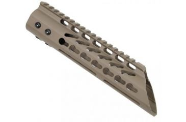 1-GUNTEC USA Ultra Thin Key Mod Free Floating Handguard w/Slant Nose
