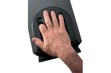 GunVault Bio MiniVault Biometric Pistol Safe, Fingerprint Recognition GVB1000