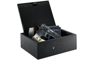 2-GunVault DrawerVault Biometric Fingerprint Gun Safe