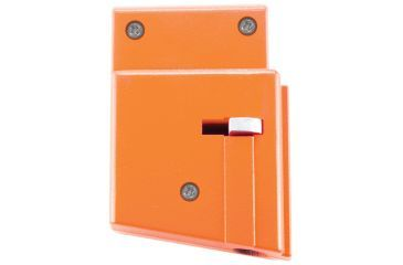 GunVault MagVault Assault Rifle Safety Lock, Orange, Key AR-01 Back