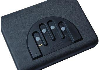 2-GunVault Microvault Portable Biometric Pistol Safe
