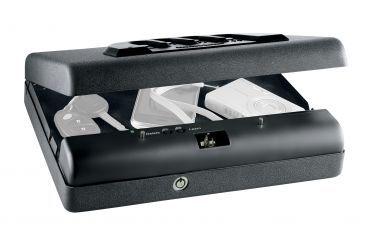 3-GunVault Microvault Portable Biometric Pistol Safe