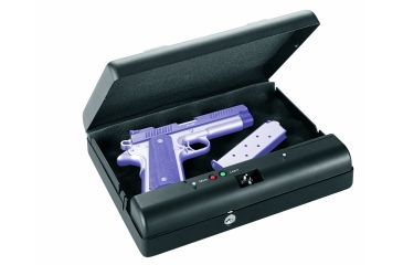 GunVault Microvault Portable Pistol Safe, Waterproof w/ Keypad Entry - MV500-STD