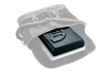 GunVault Microvault Portable Pistol Safe, Waterproof w/ Keypad Entry - MV500-STD