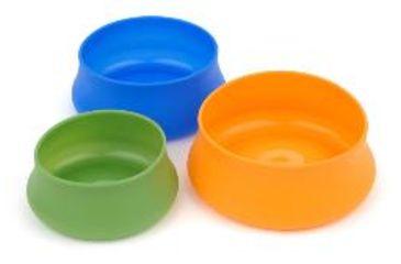 Splashguard Squishy Pet Bowl, Blue, 24 oz 356833
