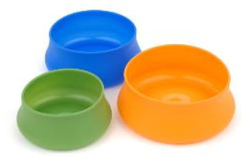 Splashguard Squishy Pet Bowl, Lime, 48 oz 356829