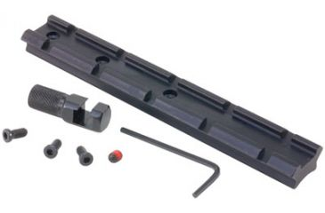 1-H&R 72920 Scope Mount W/Offset Hammer Spur For H & R Weaver Style Matte Black