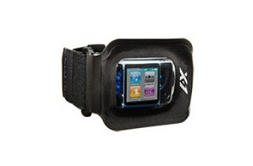 H2O Audio Amphibx Fit Waterproof Armband, Large H2O-WB1-BK