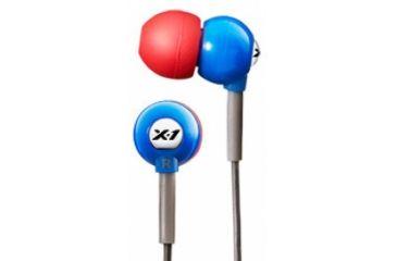 H2O Audio Flex Waterproof Headphones, Super Hero Blue H2O-CB1-RB