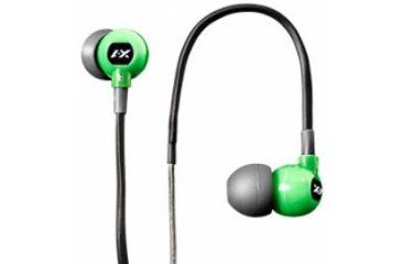 H2O Audio Trax Runner'S Waterproof Headphones, Green H2O-TR1-GN