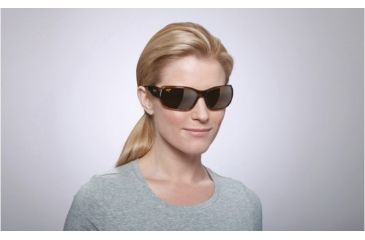 Maui Jim Hamoa Beach Sunglasses w/ Rootbeer Frame and HCL Bronze Lenses - H226-15, On Model