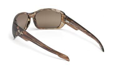 Maui Jim Hamoa Beach Sunglasses w/ Rootbeer Frame and HCL Bronze Lenses - H226-15, Back View