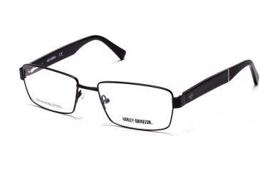 859e9573bae Harley Davidson Eyewear HD0776 Eyeglass Frames - Matte Black Frame Color