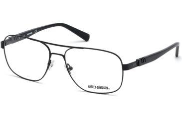 928974b2347 Harley Davidson Eyewear HD0783 Eyeglass Frames - Matte Black Frame Color