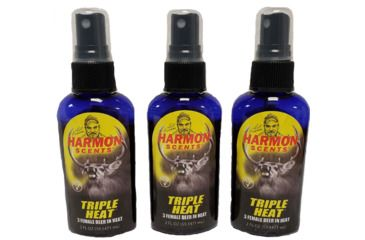 1-Harmon Scents Harmon Triple Heat Buy 2 Get 1 Free Combo Pack