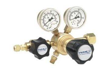 Harris Calorific High-Purity Single-Stage Gas Regulators, Brass 3001154