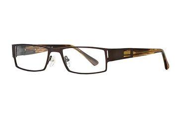 Hart Schaffner Marx HSM 747 SEHS 074700 Progressive Prescription Eyeglasses - Brown SEHS 0747005345 BN