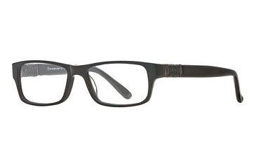 Hart Schaffner Marx HSM 922 SEHS092200 Single Vision Prescription Eyewear - Black SEHS 0922005445 BK