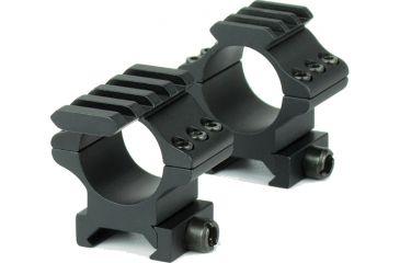 Hawke Sport Optics 2pc 1in. Weaver Medium Tactical, Black HM7416
