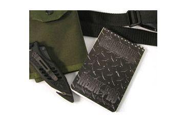 BlackHawk HawkPad WaterProof Notebook 4 x 6 - Bottom Opening 800001BK