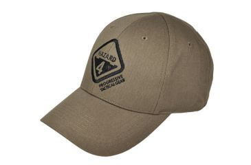 Hazard4 Embroidered Hazard 4 Logo Cap, Coyote HDG-H4CAP-CYT