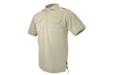 Hazard4 LEO Uniform Replacement Battle Polo, Tan, Large APR-LEO-TAN-L