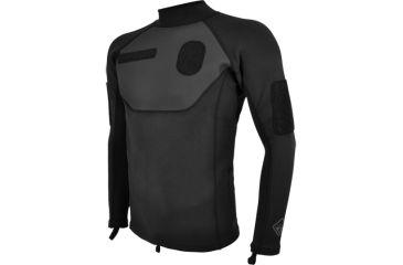 Hazard4 SkinDiver ID Neoprene Shirt, Black, XX - Large AQA-SKDV-BLK-2XL