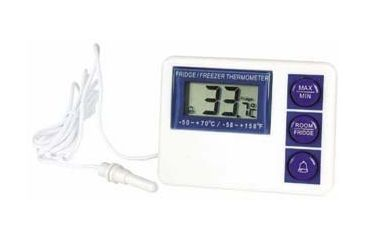 VWR Digital Refrigerator/Freezer Thermometer with Alarm 3804 Vwr FRIDGE/FREEZER Thermometer