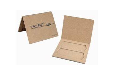 Heathrow Disposable Two-Place Slide Mailer HS9904V Vwr Mailer 2 Slide Cboard PK24