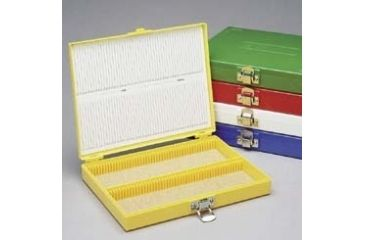 Heathrow Microscope Slide Boxes, 100-Place HS15994B